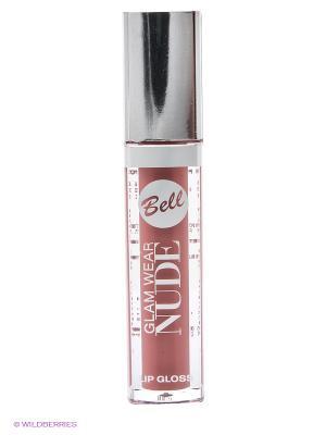 Кремовый блеск для губ Glam Wear Nude, тон 5 Bell. Цвет: терракотовый