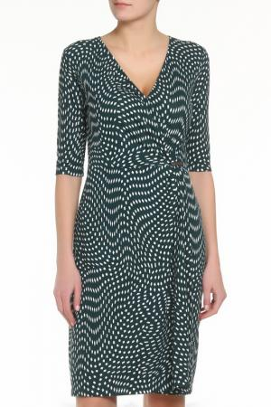 Платье ZERO. Цвет: зеленый