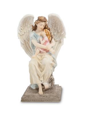Статуэтка Ангел-хранитель Veronese. Цвет: бронзовый