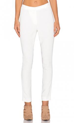 Узкие укороченные брюки the situation TY-LR. Цвет: белый