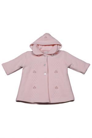 Пальто PICCOLO ANGELO. Цвет: розовый