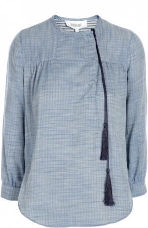 Блуза 10 Crosby Derek Lam. Цвет: голубой