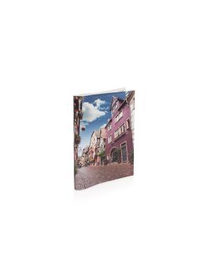 Обложка Принт-Солнечный город Eshemoda. Цвет: розовый