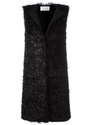 Пальто без рукавов Harris Wharf London. Цвет: чёрный