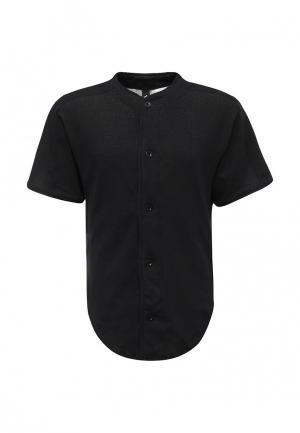 Рубашка adidas Performance. Цвет: черный