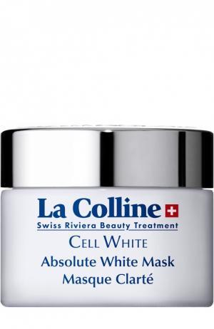 Отбеливающая маска для лица Absolute White Mask La Colline. Цвет: бесцветный
