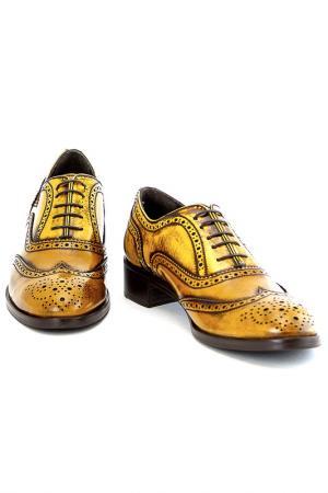 Ботинки Sutor Mantellassi. Цвет: желтый