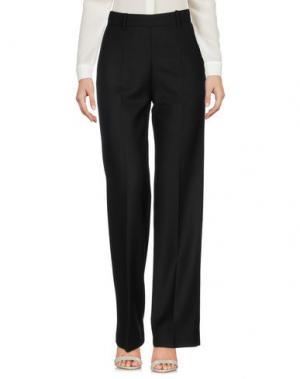Повседневные брюки WOOD. Цвет: черный