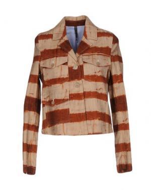 Пиджак MANILA GRACE. Цвет: коричневый