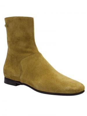 Ботинки Carritz. Цвет: жёлтый и оранжевый