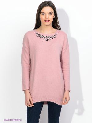 Туника Maison espin. Цвет: бледно-розовый