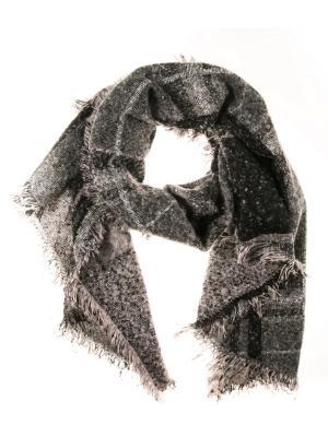 Палантин Vittorio Richi. Цвет: черный, серый