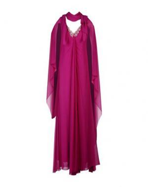 Длинное платье MUSANI COUTURE. Цвет: фиолетовый