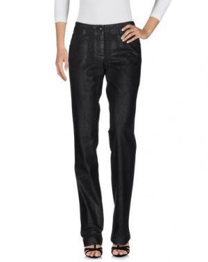 Джинсовые брюки GAI MATTIOLO. Цвет: черный