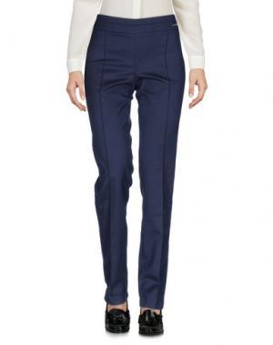 Повседневные брюки MILA SCHÖN CONCEPT. Цвет: темно-синий