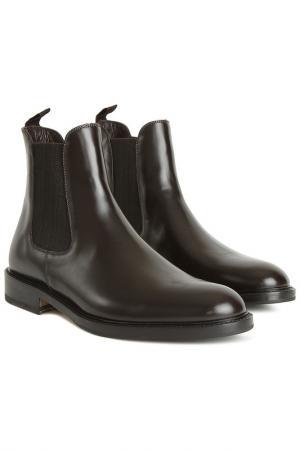 Ботинки Pollini. Цвет: темно-коричневый