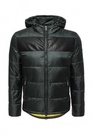 Куртка утепленная Marciano Los Angeles. Цвет: зеленый