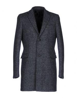 Пальто FOLK. Цвет: темно-синий