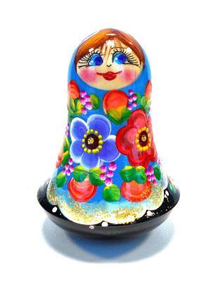 Неваляшка музыкальная - Девочка синяя Taowa. Цвет: синий