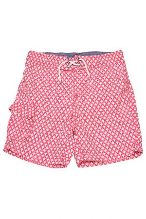 Плавательные шорты Tommy Hilfiger. Цвет: розовый