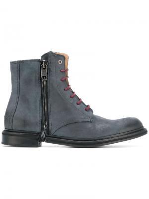 Zip Phim boots Diesel. Цвет: синий