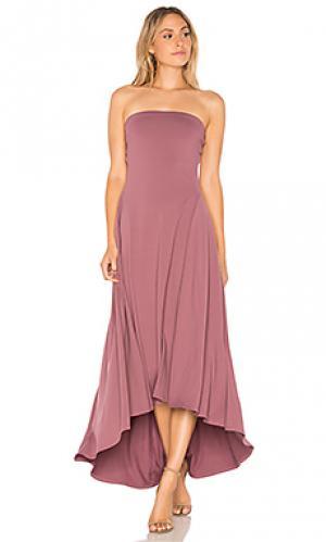 Платье bena Susana Monaco. Цвет: сиреневый