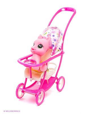 Пони с малышом S-S. Цвет: розовый