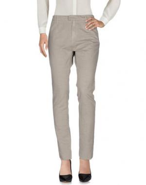 Повседневные брюки SEAL KAY INDEPENDENT. Цвет: серый