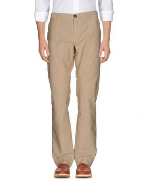 Повседневные брюки FRIEDRICH GRAHAM. Цвет: песочный