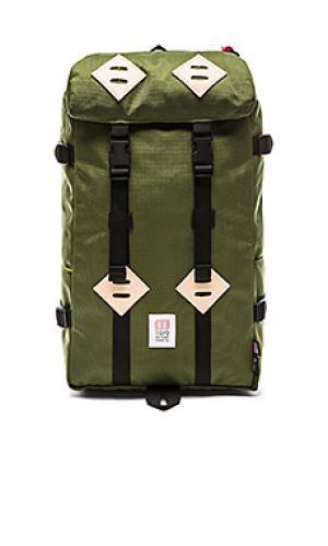 Рюкзак 22l klettersack TOPO DESIGNS. Цвет: оливковый