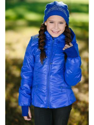 Куртка DUWALI. Цвет: синий