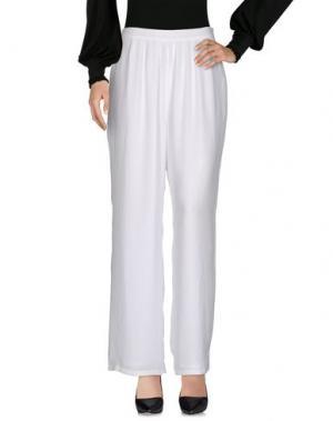 Повседневные брюки AMERICAN VINTAGE. Цвет: белый