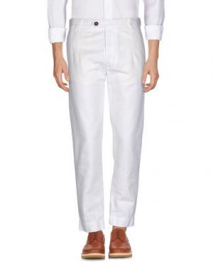 Повседневные брюки AUTHENTIC ORIGINAL VINTAGE STYLE. Цвет: слоновая кость