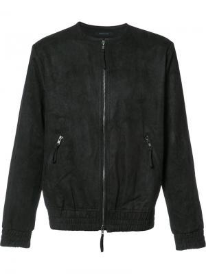Легкая куртка на молнии Publish. Цвет: чёрный