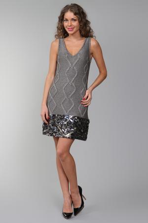 Платье Catherine Malandrino. Цвет: серый