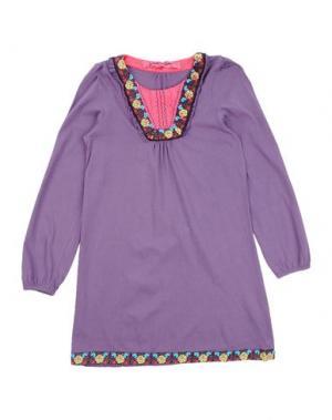 Платье CUSTO GROWING. Цвет: фиолетовый