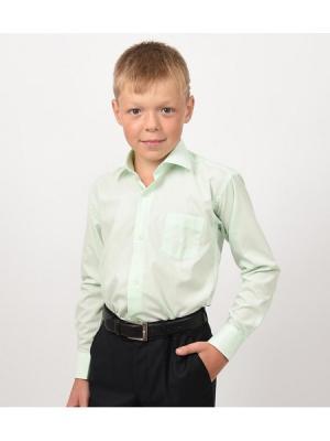 Рубашка  для мальчика HERDAL. Цвет: салатовый