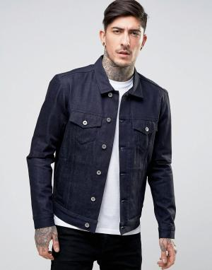 Edwin Джинсовая куртка High Road. Цвет: темно-синий