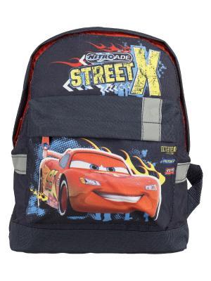 Рюкзак детский.Disney Cars Disney. Цвет: желтый, синий, красный