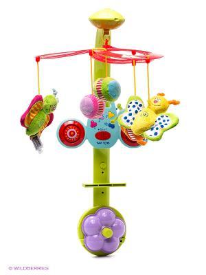 Игрушка Мобиль Бабочки TAF TOYS. Цвет: желтый, светло-зеленый, красный