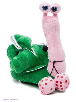 Мягкая игрушка Улитка Мульти-пульти. Цвет: зеленый, розовый