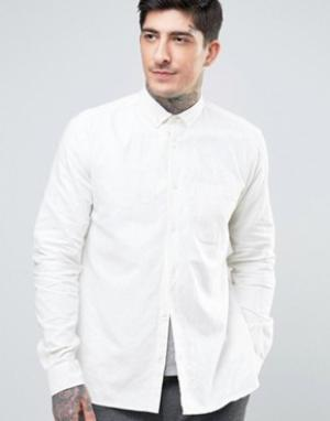 YMC Рубашка на пуговицах Harajuku. Цвет: кремовый
