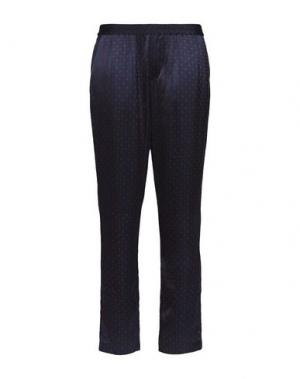 Повседневные брюки THAKOON. Цвет: темно-синий