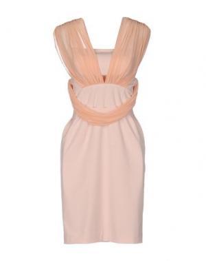 Короткое платье ANNARITA N.. Цвет: светло-розовый
