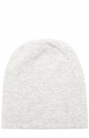 Кашемировая шапка бини Tegin. Цвет: серый