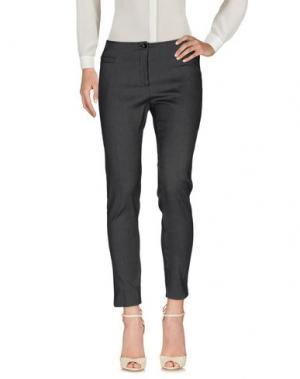 Повседневные брюки MARCELLO SANGIORGI. Цвет: черный