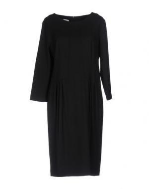 Платье до колена ROSSO35. Цвет: черный
