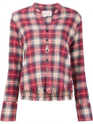 Рубашка Flannel Studio Greg Lauren. Цвет: красный