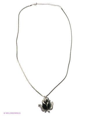 Колье Royal Diamond. Цвет: серебристый, антрацитовый
