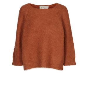 Пуловер Mulhouse AND LESS. Цвет: кирпичный,черный